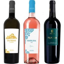 Box 3 vini della Puglia
